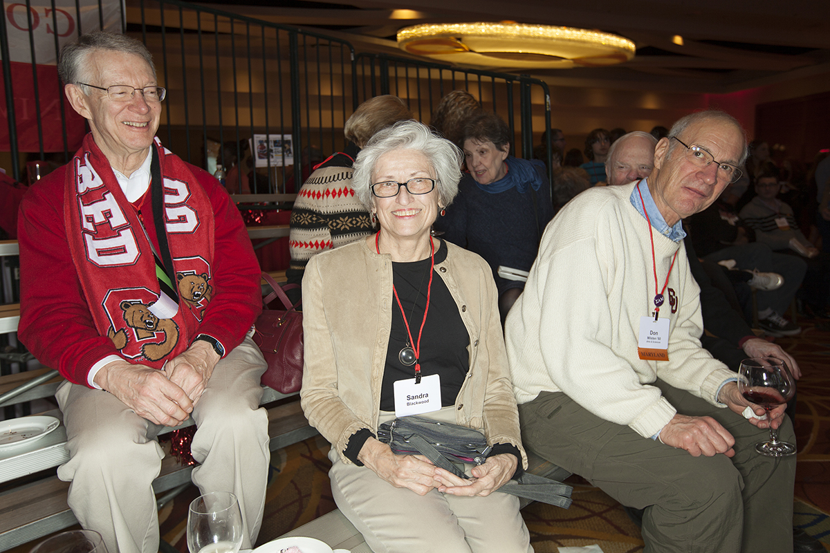 picture cornell jan 22 2014 cornell chronicle dick lynham sandra blackwood and donald milstein