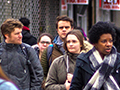 students tour Brooklyn