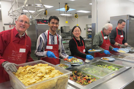 Cayuga's Waiters at the Blanchet House soup kitchen