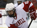 Big Red women's hockey player