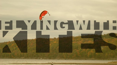 "Still from ""Flying with Kites."""