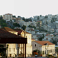 Nazareth skyline at sunrise.