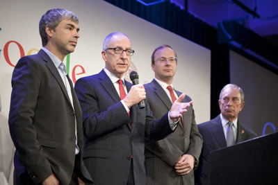 Larry Page, David Skorton, Craig Gotsman, Michael Bloomberg answer questions