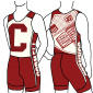 Rowers, design students fashion retro uniforms