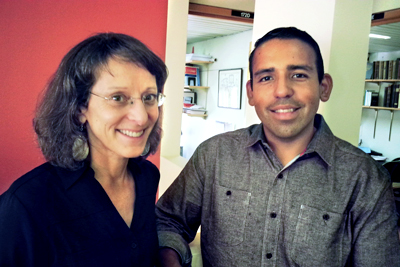 Barbara Strupp and Ramon Velazquez