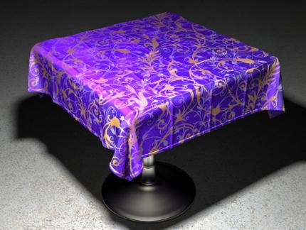 cgi tablecloth