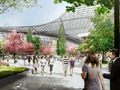 Cornell NYC Tech campus rendering