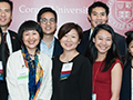 alumni at Asia-Pacific Leadership Conference