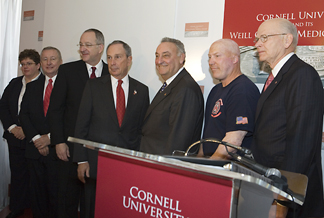 Cornell's leadership announced the $4 billion campaign