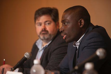 Kwame Amponsah and Tom Schryver