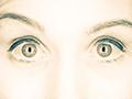 surprised eyes