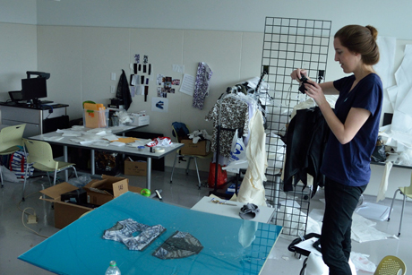 FSAD designer Katelyn Ridgeway '13 is preparing an outdoor lifestyle collection.