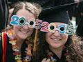 Graduates with 2015 sunglasses