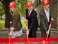 health facility groundbreaking