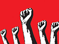 leftists fists