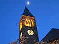 McGraw Tower night view