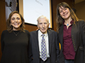 Martin Rees with Ann Druyan and Lisa Kaltenegger