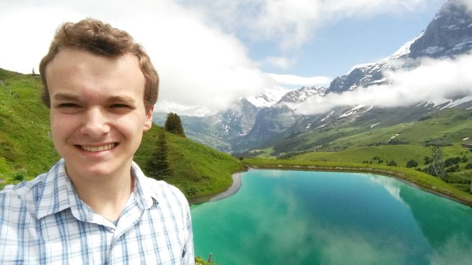 Adam Berry in Alps