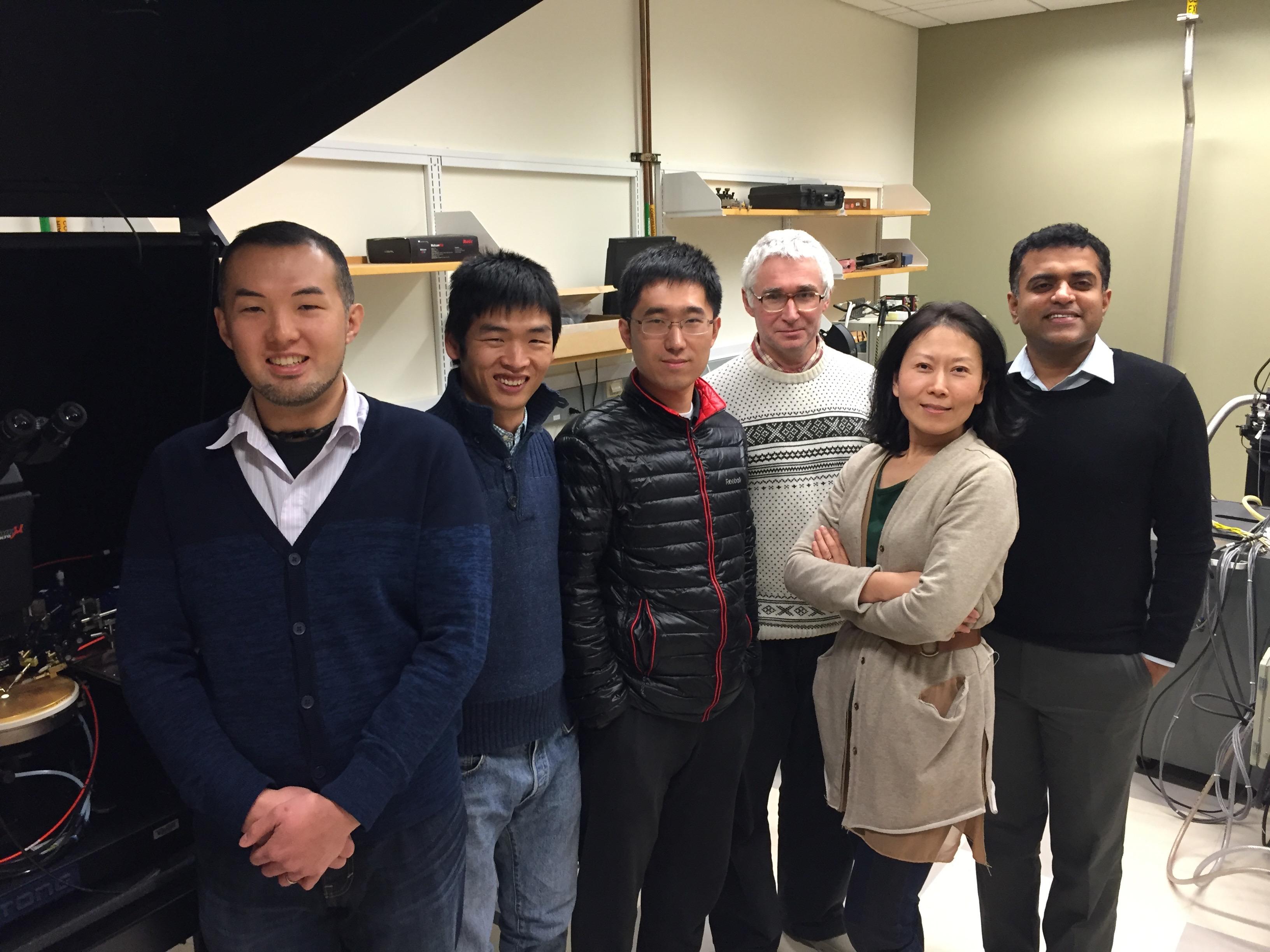 GaN power diodes team