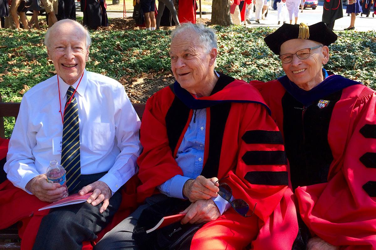 Austin Kiplinger, Harold Tanner, Peter Meinig